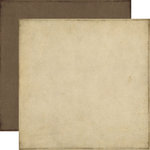 Echo Park - Reflections Collection - 12 x 12 Double Sided Paper - Taupe