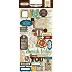 Echo Park - Reflections Collection - Chipboard Stickers