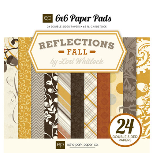 Echo Park - Reflections Collection - Fall - 6 x 6 Paper Pad