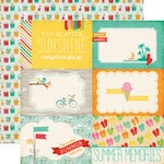 Echo Park - Summer Bliss Collection - 12 x 12 Double Sided Paper - Summer Memories