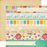 Echo Park - Summer Bliss Collection - 12 x 12 Double Sided Paper - Summer Days