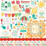 Echo Park - Summer Bliss Collection - 12 x 12 Cardstock Stickers - Elements