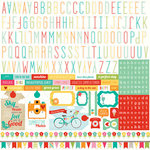 Echo Park - Summer Bliss Collection - 12 x 12 Cardstock Stickers - Alphabet