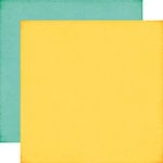 Echo Park - Summer Bliss Collection - 12 x 12 Double Sided Paper - Yellow