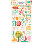 Echo Park - Summer Bliss Collection - Chipboard Stickers