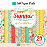 Echo Park - Summer Bliss Collection - 6 x 6 Paper Pad