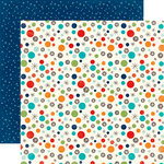 Echo Park - Scoot Collection - 12 x 12 Double Sided Paper - Dots
