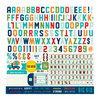 Echo Park - Scoot Collection - 12 x 12 Cardstock Stickers - Alphabet