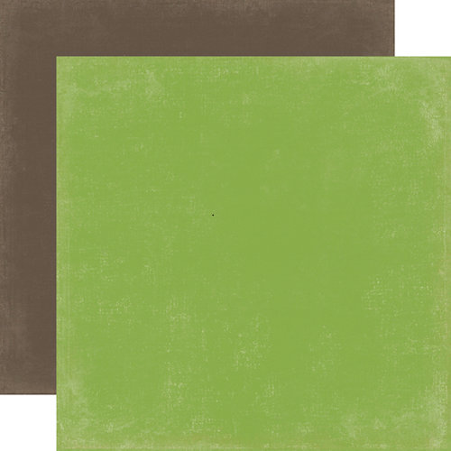 Echo Park - Scoot Collection - 12 x 12 Double Sided Paper - Green