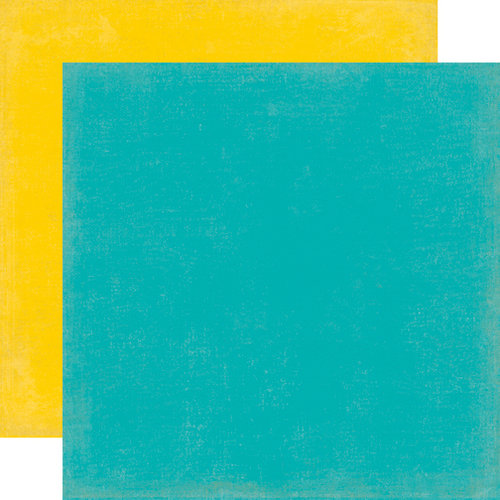 Echo Park - Scoot Collection - 12 x 12 Double Sided Paper - Teal
