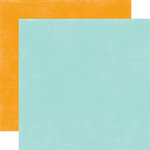 Echo Park - Summer Days Collection - 12 x 12 Double Sided Paper - Blue