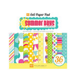Echo Park - Summer Days Collection - 6 x 6 Paper Pad, CLEARANCE
