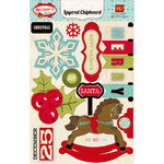 Echo Park - Season's Greetings Collection - Christmas - Layered Chipboard Stickers