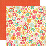 Echo Park - So Happy Together Collection - 12 x 12 Double Sided Paper - Garden