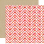 Echo Park - So Happy Together Collection - 12 x 12 Double Sided Paper - Crisscross