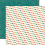 Echo Park - So Happy Together Collection - 12 x 12 Double Sided Paper - Diagonal Dot