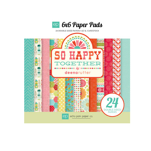 Echo Park - So Happy Together Collection - 6 x 6 Paper Pad
