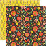 Echo Park - Simple Life Collection - 12 x 12 Double Sided Paper - Large Floral