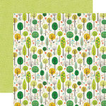 Echo Park - Simple Life Collection - 12 x 12 Double Sided Paper - Fancy Forest