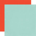 Echo Park - Simple Life Collection - 12 x 12 Double Sided Paper - Light Blue