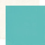 Echo Park - Simple Life Collection - 12 x 12 Double Sided Paper - Teal
