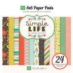 Echo Park - Simple Life Collection - 6 x 6 Paper Pad
