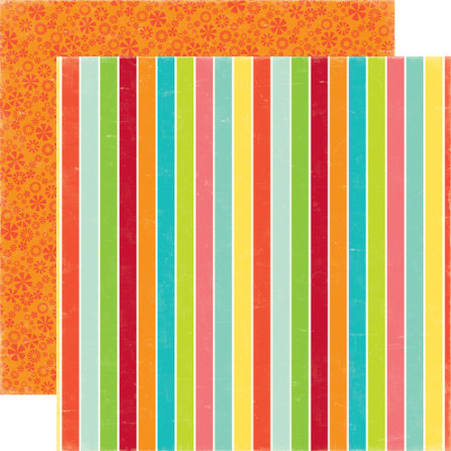 Echo Park - Sweet Summertime Collection - 12 x 12 Double Sided Paper - Cool Treats, CLEARANCE
