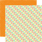 Echo Park - Sweet Summertime Collection - 12 x 12 Double Sided Paper - Flower Garden, CLEARANCE