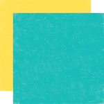 Echo Park - Sweet Summertime Collection - 12 x 12 Double Sided Paper - Blue