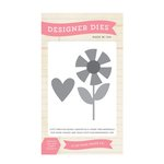 Echo Park - Sweet Summertime Collection - Designer Dies - Flower Love