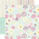 Echo Park - Springtime Collection - 12 x 12 Double Sided Paper - Floral Fun, CLEARANCE