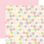 Echo Park - Springtime Collection - 12 x 12 Double Sided Paper - Fresh Flowers
