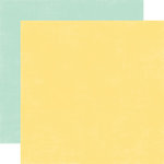 Echo Park - Springtime Collection - 12 x 12 Double Sided Paper - Lemonade and Robin's Egg