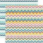 Echo Park - Sunshine Collection - 12 x 12 Double Sided Paper - Zig Zag