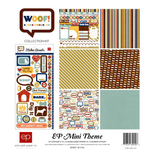 Echo Park - Woof Collection - 12 x 12 Collection Kit
