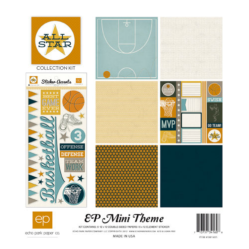 Echo Park - All Star Collection - 12 x 12 Collection Kit