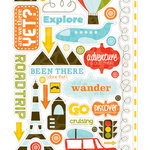 Echo Park - Enjoy the Ride Collection - Cardstock Stickers