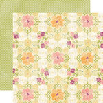 Echo Park - Hello, Spring Collection - 12 x 12 Double Sided Paper - Floral