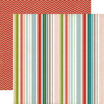 Echo Park - Homemade Collection - 12 x 12 Double Sided Paper - Stripe