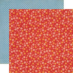 Echo Park - Grandma's Kitchen Collection - 12 x 12 Double Sided Paper - Grandma's Floral