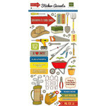 Echo Park - Grandpa's Tool Shed Collection - Cardstock Stickers