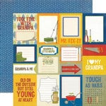 Echo Park - Grandpa's Tool Shed Collection - 12 x 12 Double Sided Paper - Grandpa's Journaling