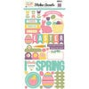 Echo Park - Easter Collection - Cardstock Stickers