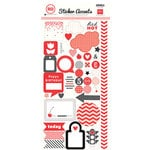 Echo Park - Red Collection - Cardstock Stickers