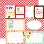 Echo Park - Lets Picnic Collection - 12 x 12 Double Sided Paper - Journaling