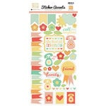 Echo Park - The Best of Friends Collection - Cardstock Stickers