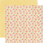 Echo Park - The Best of Friends Collection - 12 x 12 Double Sided Paper - Hearts
