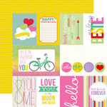 Echo Park - Best Friends Forever Collection - 12 x 12 Double Sided Paper - Journaling