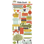 Echo Park - Family Reunion Collection - Cardstock Stickers