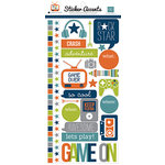 Echo Park - Game On Collection - Cardstock Stickers
